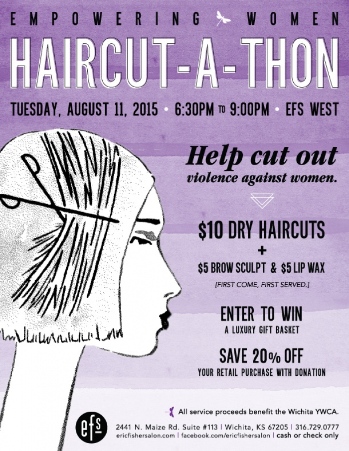 Empowering Women Haircut-a-thon at EFS West